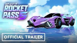 Rocket League - Official <b>Anime Style</b> Trailer (Rocket Pass <b>5</b> ...