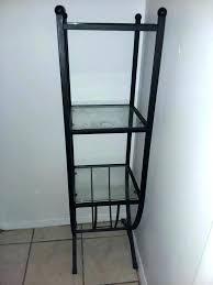 wrought iron wall shelf unit shelves india with towel bar