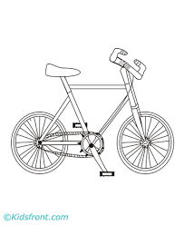 Small Picture Bicycle Coloring Pages Printable