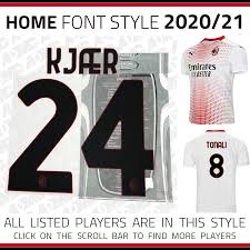 The home, away, and third dls 19 kits can be imported in a simple the fly emirates is once again the main sponsor of associazione calcio milan. 2020 21 Ac Milan Away Kits Admc Llc