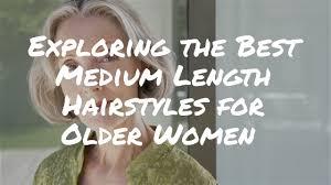 Exploring The Best Medium Length Hairstyles For Older Women Video