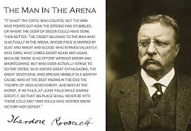 Quotes By Teddy Roosevelt Interesting Amazon Theodore Teddy Roosevelt The Man In The Arena Quote
