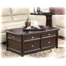 ashley furniture black coffee table