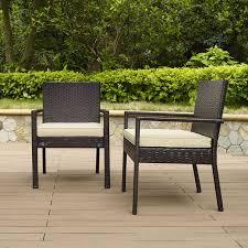 Crosley Furniture Palm Harbor Outdoor Wicker Stackable Chairs 4pk Palm Harbor Outdoor Furniture