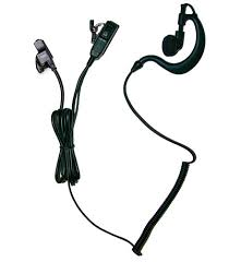 m3 radio accessories bodyguard earpiece for m3 2 wire earpiece microphone