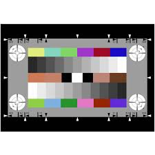 Color Calibration Chart Color And Calibration Test Chart Ye0232_3nh