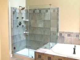 basement shower stall ideas full image bathroom small corner built in storage cabinets glass stalls for b