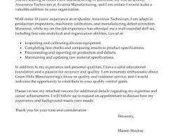 Ideas Of Resume Cover Letter Examples Qa Engineer Wonderful Quality