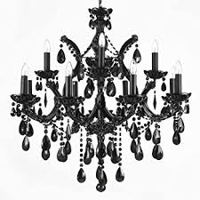 black crystal lighting. wonderful crystal jet black chandelier crystal lighting 30x28 with black crystal lighting h