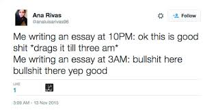 times the internet hilariously summed up essay writing this is an accurate look at how your quality declines over the length of the essay