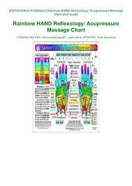 Read_ Pdf Rainbow Hand Reflexology Acupressure Massage
