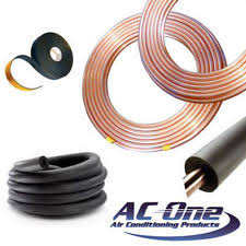 air conditioning pipe insulation. air conditioning copper pipe \u0026 insulation