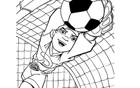 10 Voetbal Kleurplaten Printen Krijg Duizenden Kleurenfotos Van