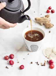 <b>Cherry Turmeric</b> Bedtime Tea | Love & Zest