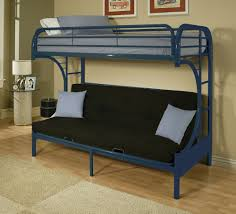 Installation a Metal Bunk Bed with Futon | Modern Wall Sconces and ...
