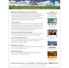 Maine Web Design Barnstormer Design Competitors Revenue And Employees