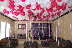 simple birthday room decoration ideas home design great gallery in