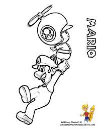 Toad Mario Coloring Pages Color Bros