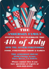 32 Best 4th Of July Party Invitations Images 4th Of July