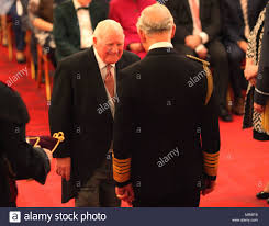 Mr. Robert Herman-Smith from Stourbridge is made an OBE (Officer of Stock  Photo - Alamy