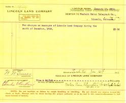 Debtor 9736-33 Land Western To Union Voucher On January Lincoln For Co 06 Billing 12 Telegraph - 1911 Company 5
