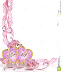 Free Templates For Invitations Birthday Sweet 100 Birthday Invitation Border Stock Illustration 94
