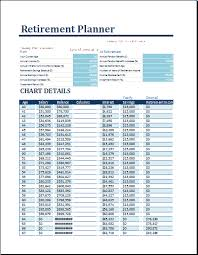financial planner template ms excel retirement financial planner template formal word templates