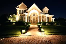 residential outside lighting outdoor layout plan