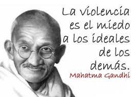 Resultado de imagen de no violencia