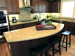 granite countertop island rounded granite island counter top kitchen granite countertop overhang on island cabinet