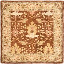 safavieh anatolia brown 8 ft x 8 ft square area rug
