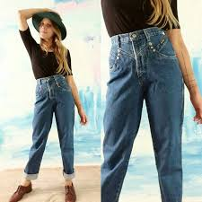 High Waisted Jeans Rockies Denim Jeans Blue Jeans Size