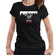 Dying Light The Following T Shirt Atai001 Womens Dying Light Art Black T Shirt Classic Cool