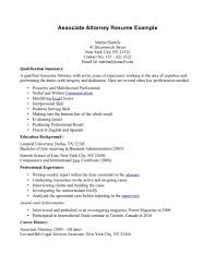 Experienced Attorney Resume Samples Surprising Attorney Resume Template Sample Pending Bar Admission 12