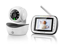 motorola digital video baby monitor. motorola digital video baby monitor with 2.8 inch color screen, infrared night vision, camera pan,