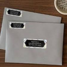 Avery Address Lables Avery Easy Peel Permanent Laser Address Labels 1 X 2 58 Fsc