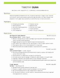 94 Sample Restaurant Manager Resume A Manager Can Be Best