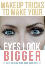 makeup tricks to make your eyes look bigger makeup tutorial not that i don t have big eyes as it is