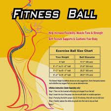 Ball Size Chart Amazon Com Appleround Fitness Ball Green 26in 65cm