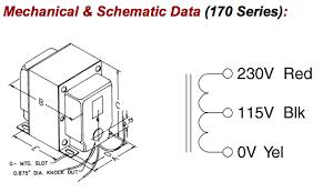 170c 115 230 volt 300 watts step up down transformer wiring up a transformer at Wiring Up A Transformer