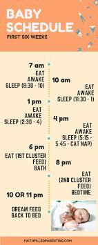 Baby Sleep Schedule Chart Scientific Baby Feeding And Sleeping Chart 2019