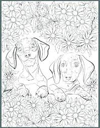 Dachshund Coloring Page Dachshund Coloring Pages Dachshund Coloring
