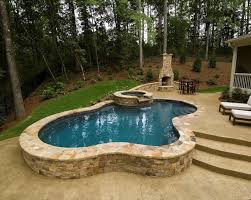 inground pools. 21 Photos Gallery Of: Great Things About Semi Inground Pools