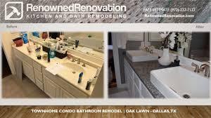 Dallas Bathroom Remodeling Bathroom Addition Renowned Renovation - Bathroom remodel dallas