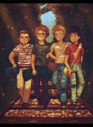 river phoenix wil wheaton jerry o connell and corey feldman pictures of stand by me stand by me by demachic on