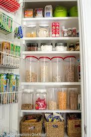 pantry closet organization image of small space kitchen pantry