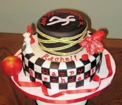 Twilightmurder Mystery Birthday Cake Cakecentralcom