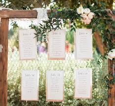 Wedding Table Seating Chart 17 Unique Seating Chart Ideas For Weddings