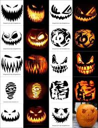 pumpkin carving patterns free free printable scary halloween pumpkin carving patterns stencils