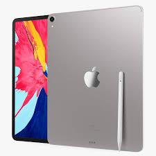 Silber iPad Pro 2019 3D-Modell $39 - .max .obj .ma .fbx .c4d .blend .3ds -  Free3D
